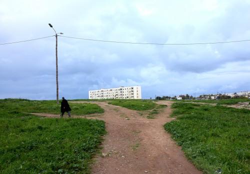 den Ort verlassen aus der Serie Marocco